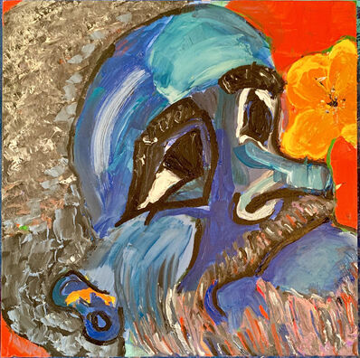 Tania Jazz Mont, 'Cholo in Blue', 2019