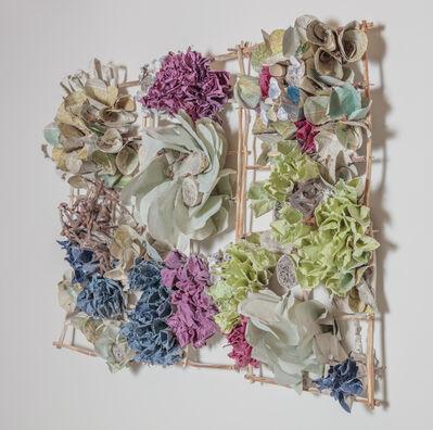 Rebecca Hutchinson, 'Three Slat Burst', 2019