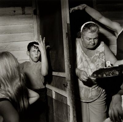 Larry Fink, 'Pat Sabatine's Eighth Birthday Party', 1977
