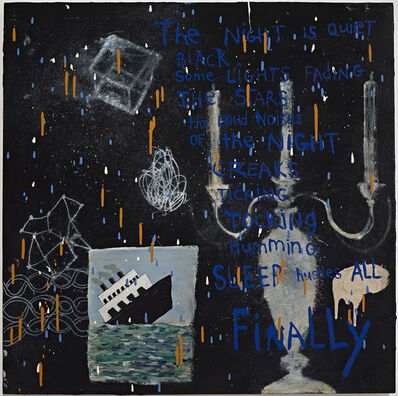 Squeak Carnwath, 'Night', 2014