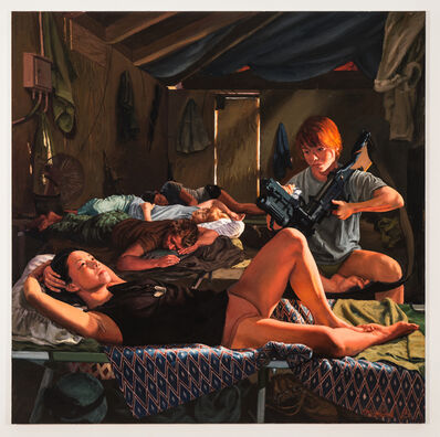 Steve Mumford, 'Female Barracks (study)', 2016