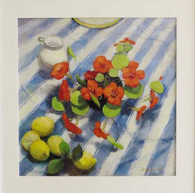 Jacqueline Fowler, 'Nasturtiums & Lemons'