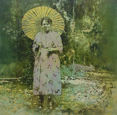 Annette Pugh, 'Woman with Parasol', 2019