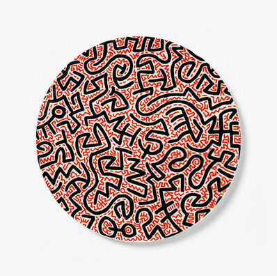 Keith Haring, 'Coalition for the Homeless Artist Plate', 2020