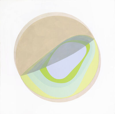 Helen Lundeberg, 'Untitled (Sectioned Planet)', 1969