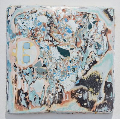 Nika Neelova, 'Stratigraphy (studio map)', 2018
