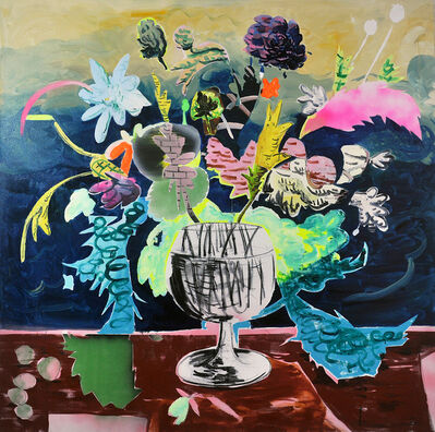 David Price, 'Still Life with Fruit and Flowers', 2019