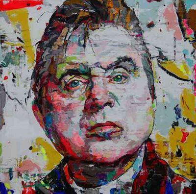 Ren Zhenyu, 'Portrait of Francis Bacon', 2012