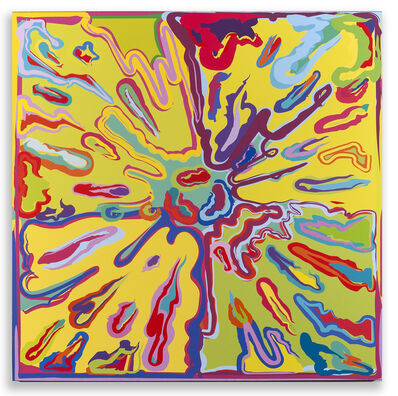 Peter Halley, 'Explosion #5', 2015