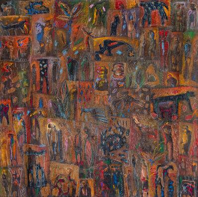 Soly Cissé, 'Dieux mystiques ', 1999