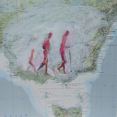 Andrea Geller, 'Walking the Coastline', 2020