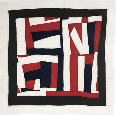 Mary Lee Bendolph (Gee's Bend), 'Lonnie's Flag', 2014