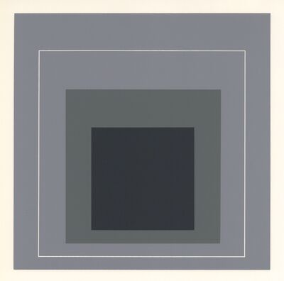Josef Albers, 'Homage to the Square', 1968