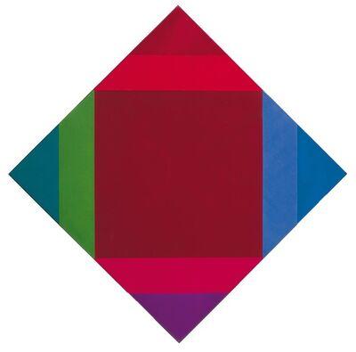 Max Bill, 'Transcoloration aus braun', 1972-1975
