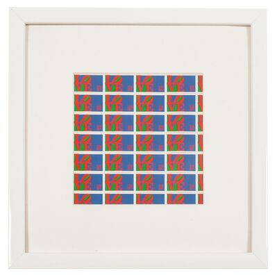 Robert Indiana, 'Love Stamps', 1973