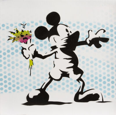 Eyesaw, 'Mickey Mouse Banksy', 2014