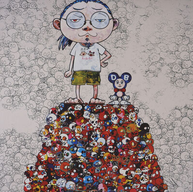 Takashi Murakami, 'DOB & Me: On the Red Mound of the Dead', 2013