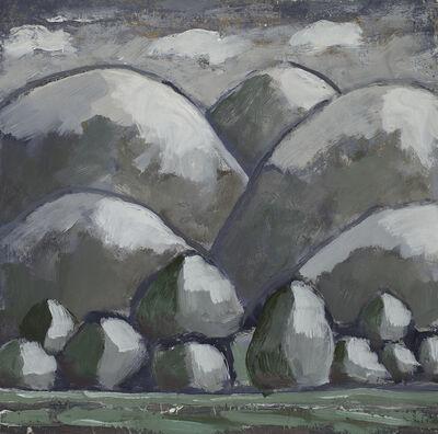 Patricia Hagen, 'Gray Hills', 2018