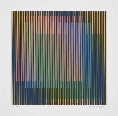 Carlos Cruz-Diez, 'Induction chromatique à double Fréquence 3', 2019