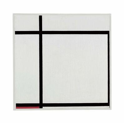 Piet Mondrian, 'Komposition II, with Red, 1926', 1926