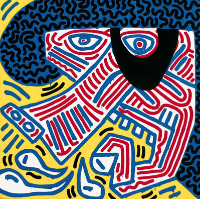 Keith Haring, 'Sneeze (via Picasso)', 1984