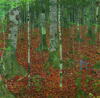 Gustav Klimt, 'Birch Forest', 1903