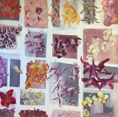Liz Ashe, 'Hirshhorn Orchids'