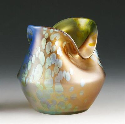 Johann Lötz Witwe, Klostermühle, 'Vase Phänomen Gre 299 tricolor', 1900