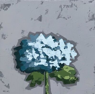 Christie Younger, 'Little Blue Hydrangea No. 2', 2019