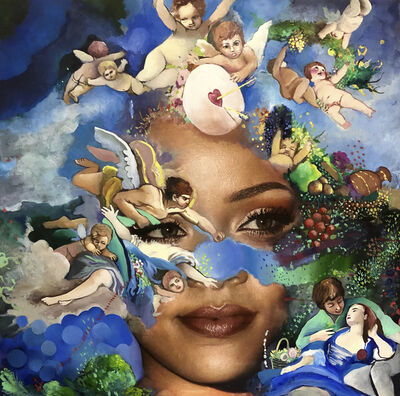 Jeanette Hayes, 'Earth Angel, Rihanna', 2019