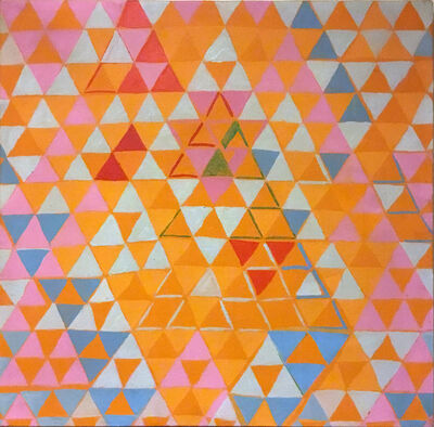 Leo Bates, 'Triangle Composition', 1969