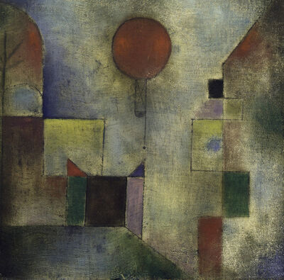Paul Klee, 'Red Balloon (Roter Ballon)', 1922