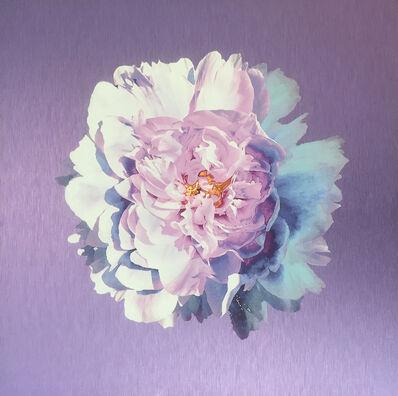 Luke Reichle, 'Peony on Lavender', 2017