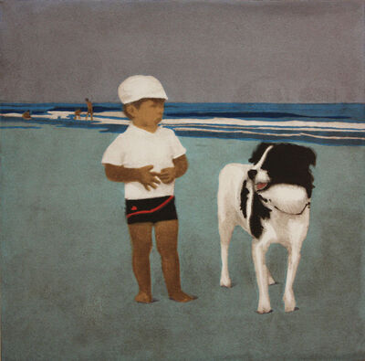 Isca Greenfield-Sanders, 'TOMMY AND STINKY', 2008