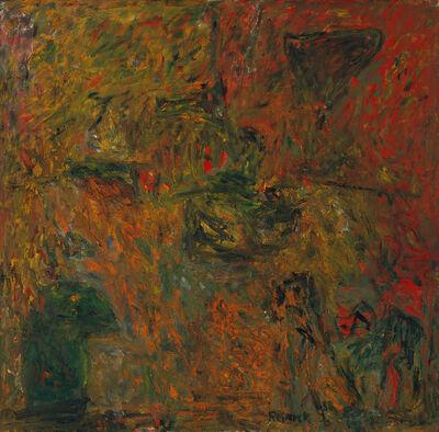 Milton Resnick, 'Y + R', 1958