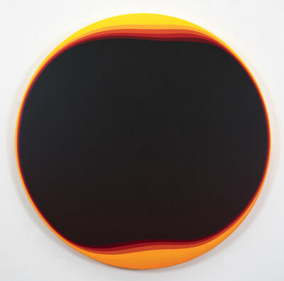 Jan Kaláb, 'Burned Circle', 2019