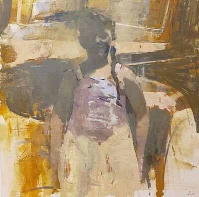 Patrick Lee (b. 1972), 'Traveler', 2019