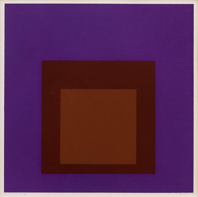 Josef Albers, 'Palatial (From Soft Edge Hard Edge)', 1965