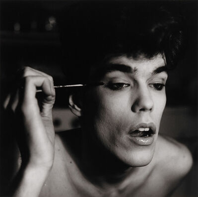 Peter Hujar, 'David Brintzenhofe Applying Makeup (II), 1982', 1982