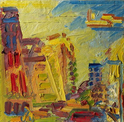 Frank Auerbach, 'Mornington Crescent, Summer Morning II', 2004