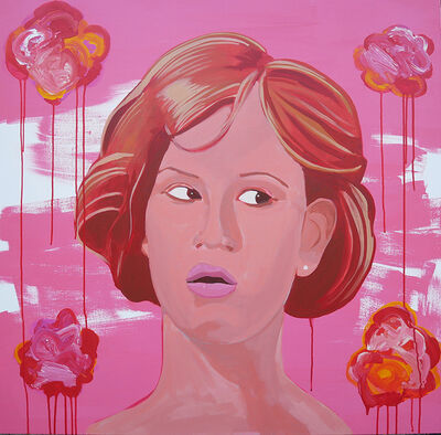 Frank Buffalo Hyde, 'She's pretty in pink', 2017