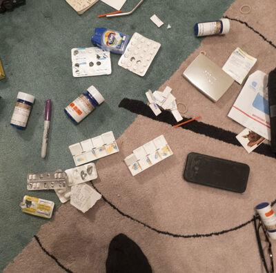 Nan Goldin, 'Aperture Drugs on the Rug. New York City, USA', 2016