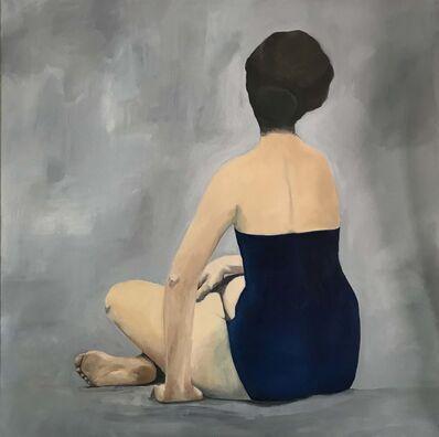 Carolina Convers, 'Castaway with Gray Background', 2020