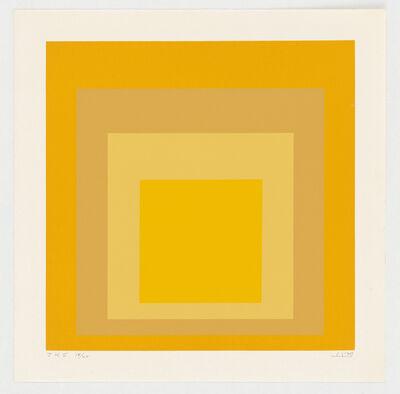 Josef Albers, 'JKS', 1970