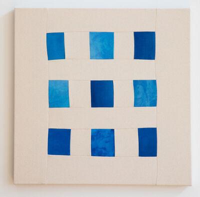 Bastienne Schmidt, 'Blue Grid', 2019