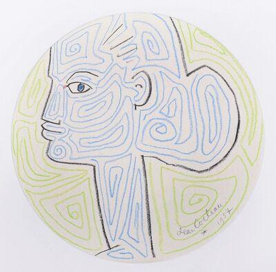 Jean Cocteau, 'La Femme au Chignon', 1957
