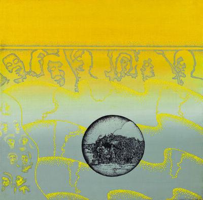 Elda Cerrato, 'Serie de la Realidad: Sueños. El Sueño de la Casita Propia IV', 1976