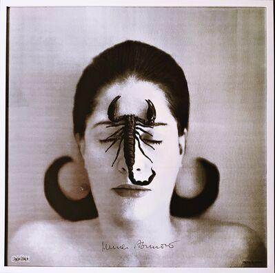Marina Abramović, 'Homage to Frida Kahlo  (Portrait with Scorpion) ', 2014