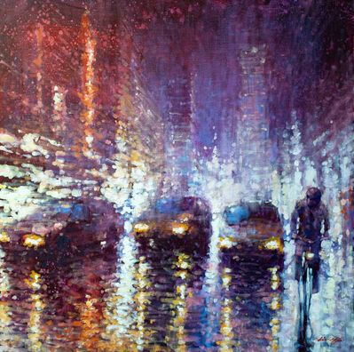 David Hinchliffe, 'Night Traffic', 2020