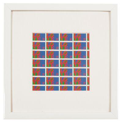 Robert Indiana, 'Love Stamps', 1973